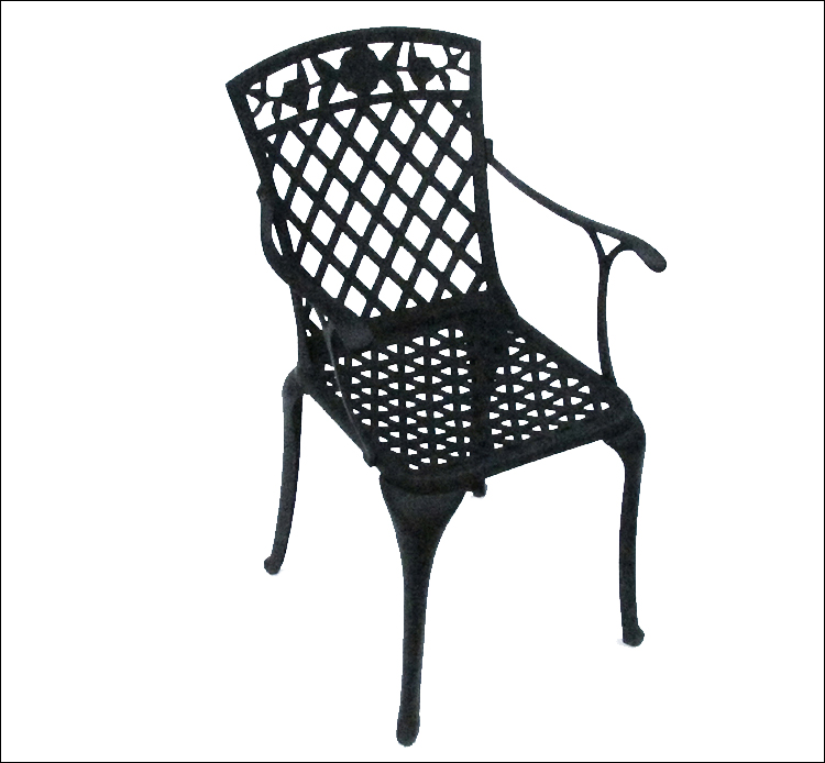 Weather resistance outdoor KD Dining Chair