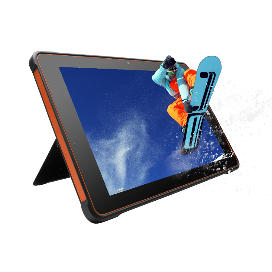 New 10 inch touch rugged android tablet with keyboard