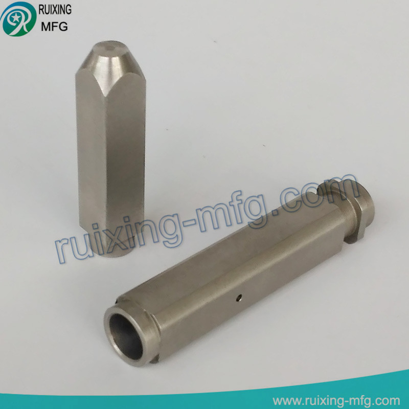 stainless steel fabrication square coupling of cnc milled parts