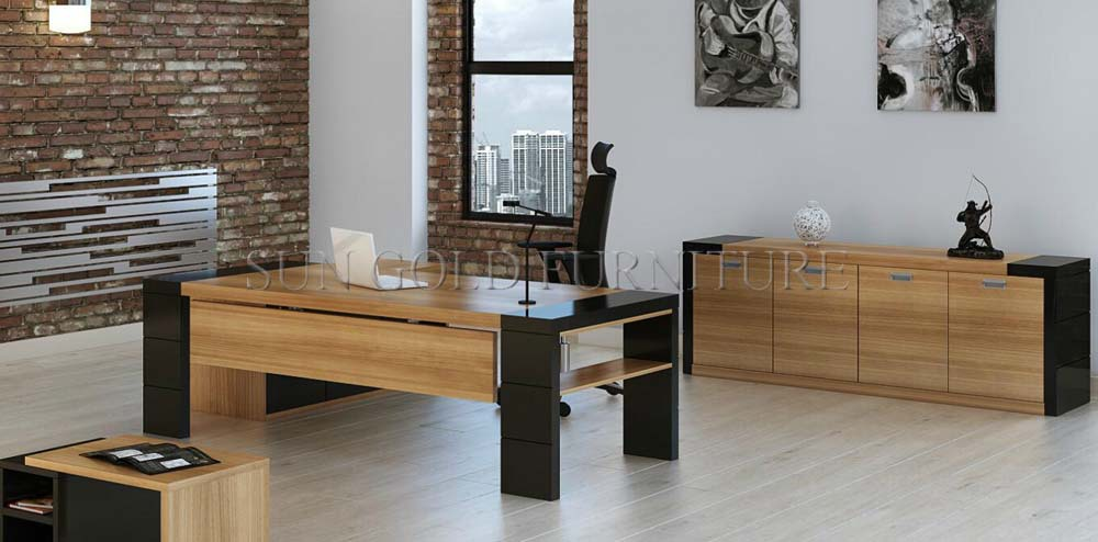 Holz Büromöbel Moderne Große Schreibtisch( Sz- Od294) - Buy ...