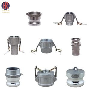 Coupling type and aluminum material camlock pipe coupling