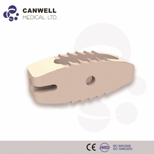 Canwell Medical PEEK-V Bone Graft Cage PLIF/TLIF Lumbar orthopedic Implant spine instrument set