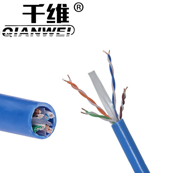 company produces network cable pass fluke test cat6 lan cable