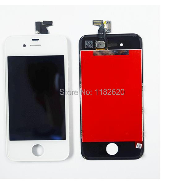 China Supplier Cheap For iPhone 4S LCD Display + Digitizer Touch Screen Replacement Parts Assembly Free Shipping DHL 30pcs/lot