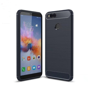 Wholesale Armor Carbon fiber TPU Case For Huawei Mate 20 lite back cover case