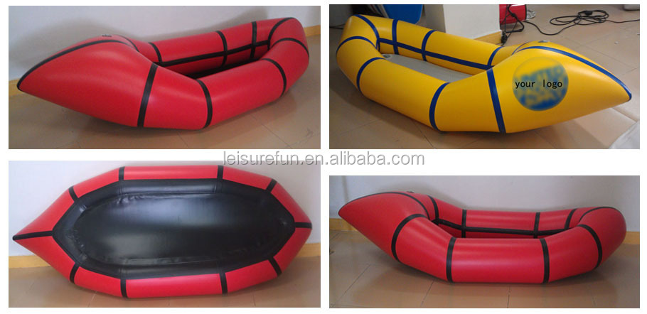 Brand new inflatable pack raft with high quality