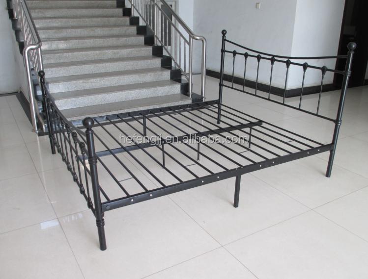 Vendita caldo seashell metallo telaio del letto king size bed metal letto id prodotto - Telaio del letto ...