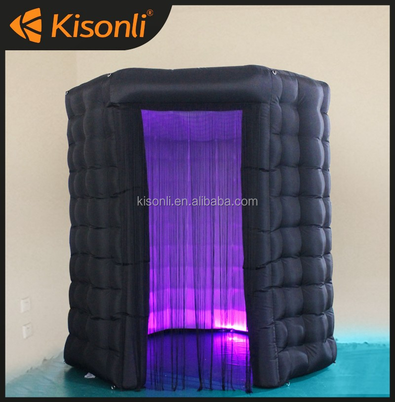 hot sale led inflatable tent/ led inflatable photo booth for sale