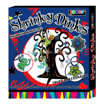 Halloween Shrinky Dinks Tree Craft Kits   Buy Halloween Craft  Ideas,Halloween Shrinky Dinks Sheets,Shrinky Dinks Art Product On  Alibaba.com