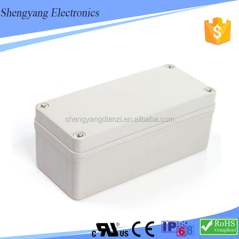 New Product White/Black ABS IP67 Water Proof Enclosure Square Junction Box 150x200x115mm