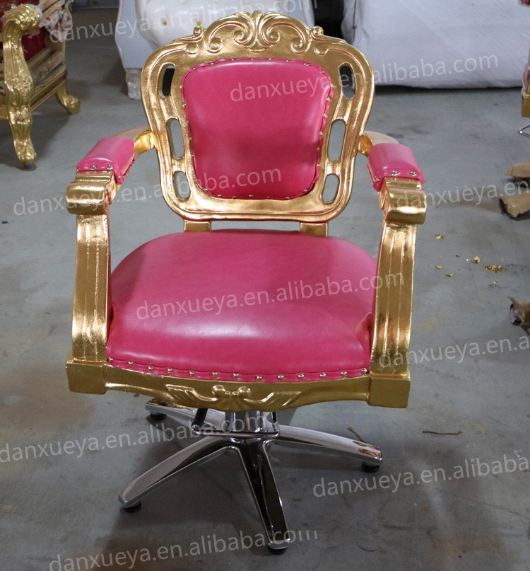 Luxury Antique Pink Hair Salon Chairs For Sale Buy Hair