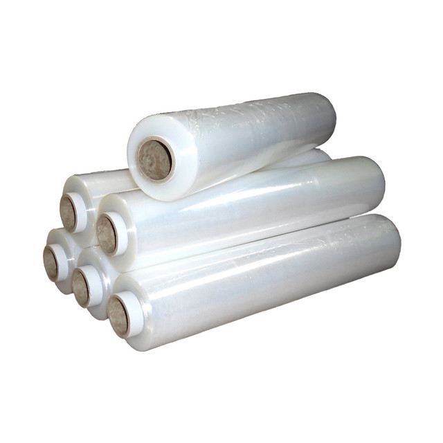 Plastic shrink stretch wrap film hand&machine stretch film wide application