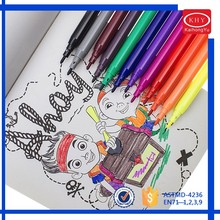 Promotional rainbow colors non-toxic water color pen set for drawing