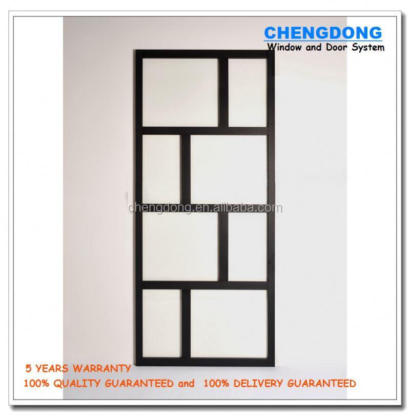 aluminio puertas exteriores vidrio de la puerta y marco de la ventana