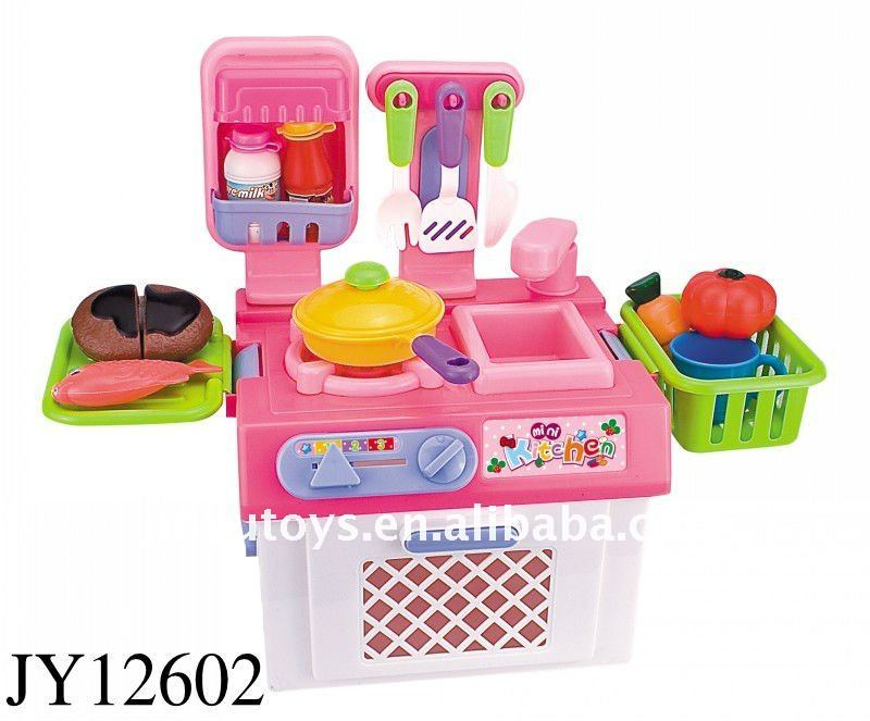 Mini Hot Pink Kitchen Little Toy Set Toys Hy Product On Alibaba