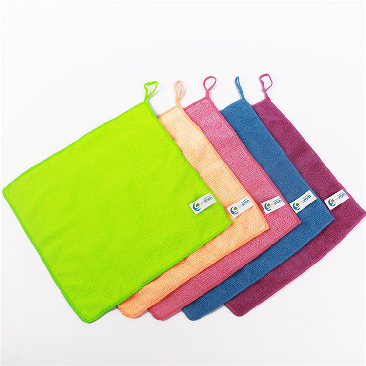 High quality absorption home glass wipe cheap china wholesale drying brushed custom car cleaning microfiber towel