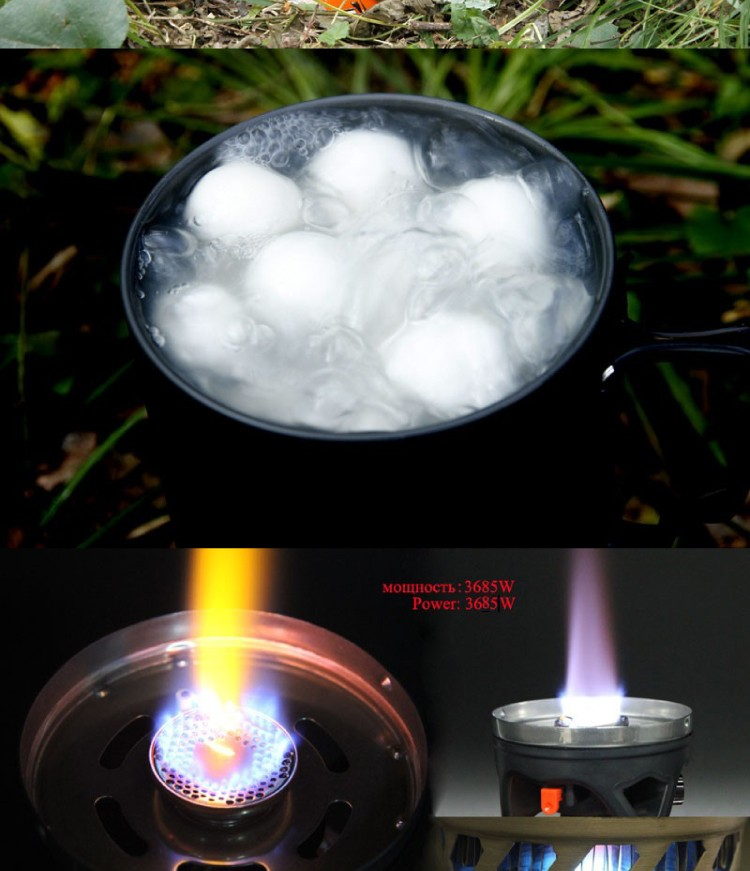 900ml Solo Cooking System Portable Camping Gas Stove