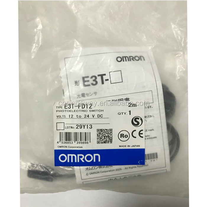 OMRON E3T-SR13 PHOTOELECTRIC SWITCH