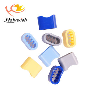 Wholesale hot sale polyester wristband Self-Locking Plastic Slide lock