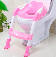 2 Colors Baby ladder Potty Training Seat Children's Potty soft baby kids toilet seat potty chair