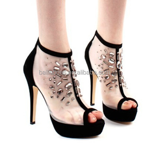 2015 The Latest Ladies Sandal Shoes /high Heel Ladies Sandal Shoes ...