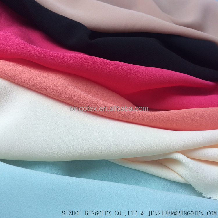 wholesale cheap 75D chiffon fabric price per meter