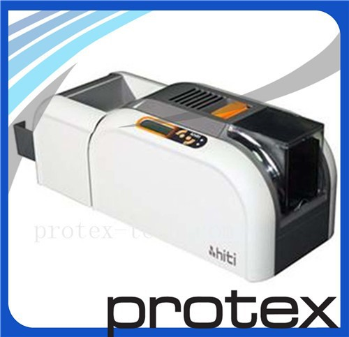 HiTi CS200e Dual-Sided Color ID Card Printer with high speed and low noise