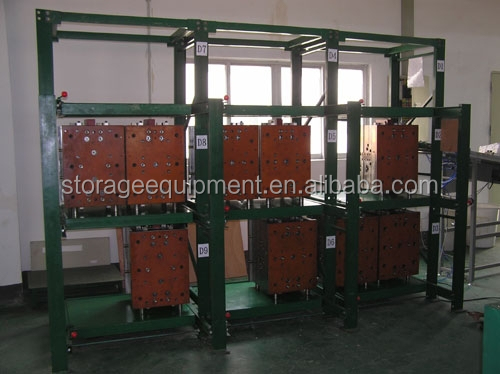 hot selling heavy roll out mold storage rack die steel mold rack