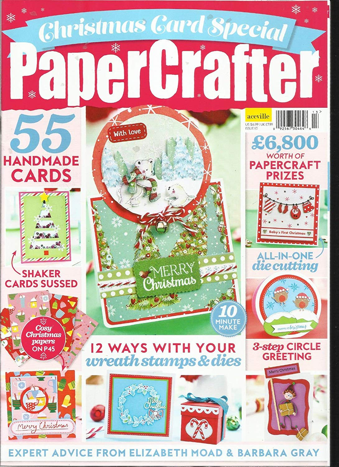 PAPER CRAFTER, ISSUE, 2017 # 113 FREE GIFTS OR CARD KIT ARE NOT INCLUDED.