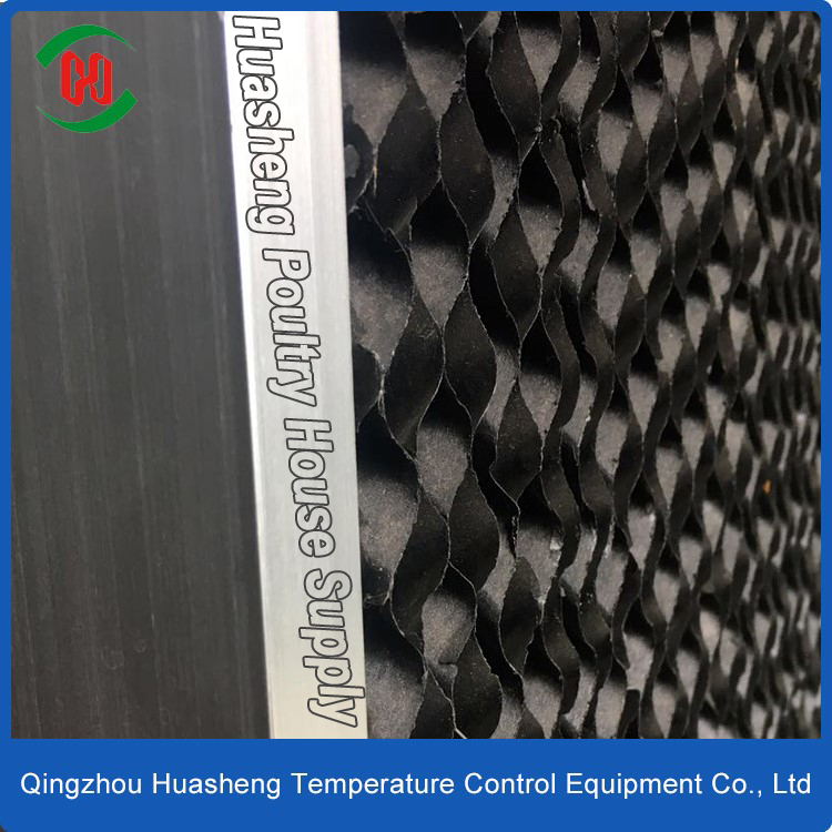 evaporative cooling pad air cooler poultry barn greenhouse equipments