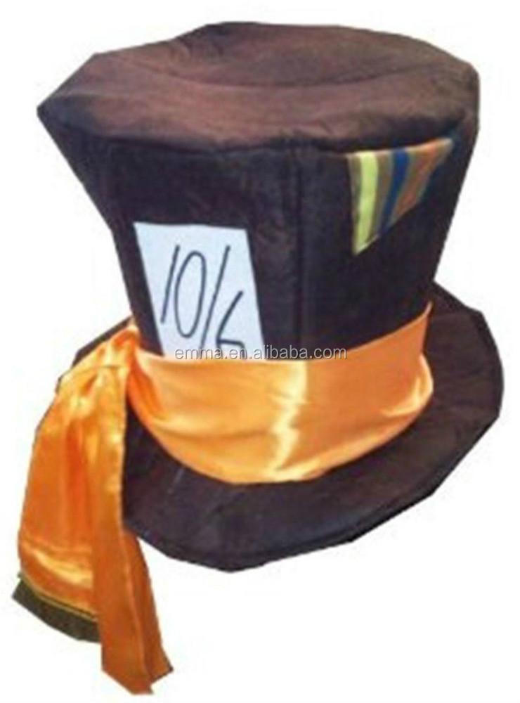 Il Cappellaio Matto Stile Cappello A Cilindro Grande Costume Paese Delle  Meraviglie Tè Partito Cosume Ht2450 Cappelli - Buy Cappellaio Matto Cappello  ... 4da619c1d919