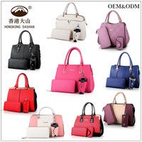HK018 2017 Handbag Women's Canvas Bag Wholesale Tote Bags Designer Handbag OEM Factory in china