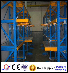 top quality new products draw out rolling flow pallet rack