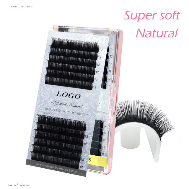 Beauty Essentials 50trays All Size High Quality Mink Eyelash Extension Faux Individual Eyelashes Natural Eyelashes Cilia Lashes Eyelash Extension Great Varieties