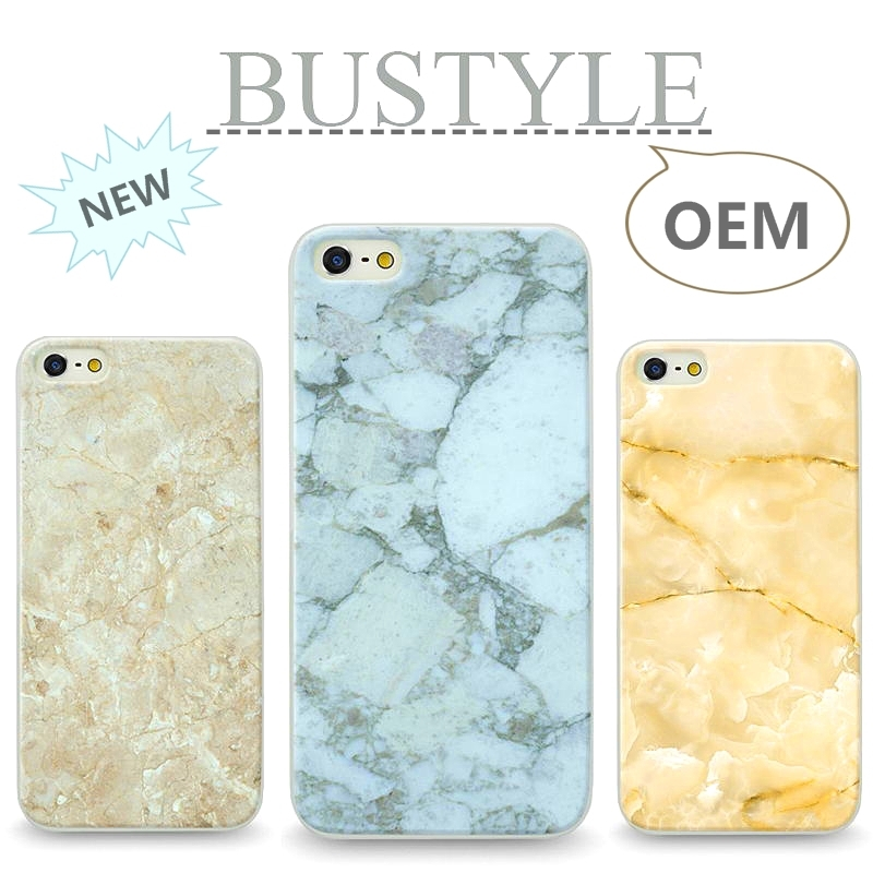 Brand Bustyle Mobile Phone Marble Series Customized Design Cover For Apple iPhone 4 5 5s 6 plus For Xiaomi Mi4 Mi3 Wholesale