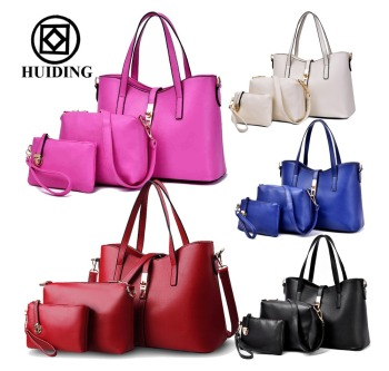 Hot Sale 3 Pcs In 1 Set Handbags For Women Fashion Ladies Handbag