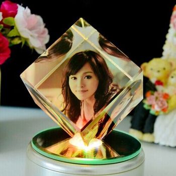 2018 Hot Girlfriend Birthday Souvenir Gifts Crystal Photo Frame