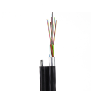 Outdoor Self Supporting Steel Wire Figure 8 GYTC8A Fiber Optic Cable