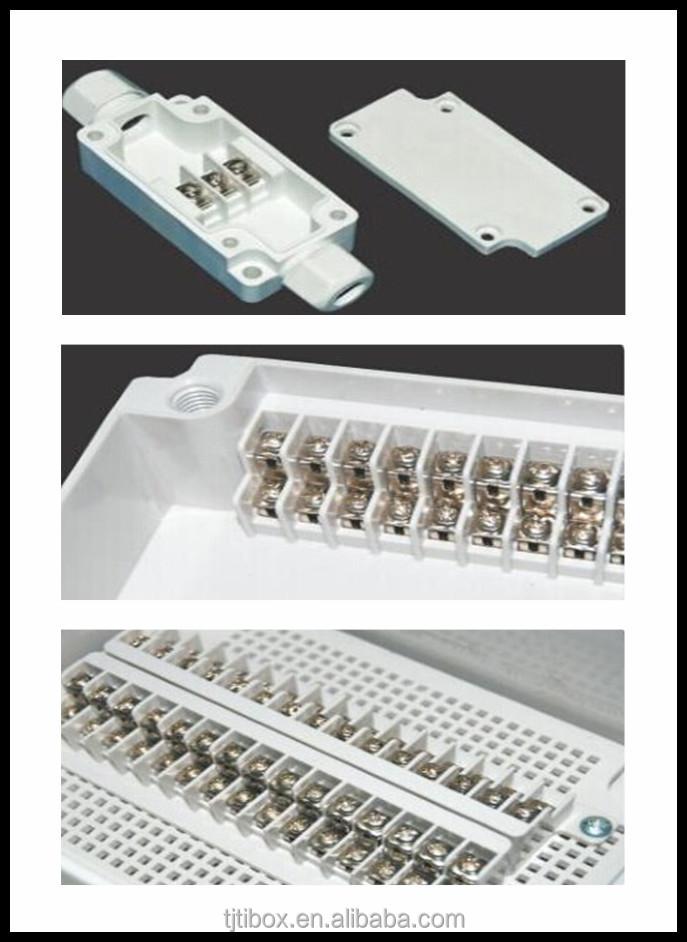 Ip66 Newest Type Pvc Waterproof Box Electrical Terminal
