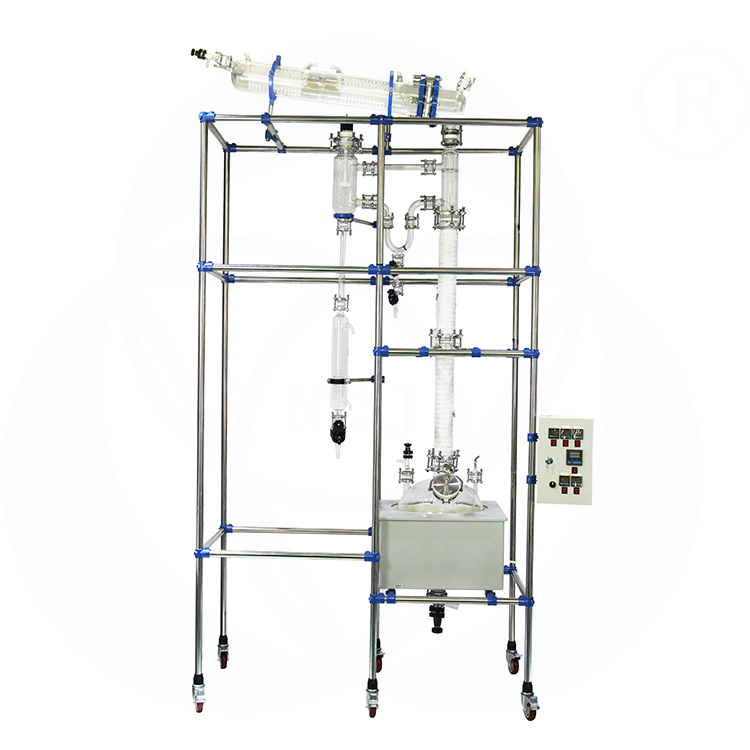 Laboratorium glas reactor