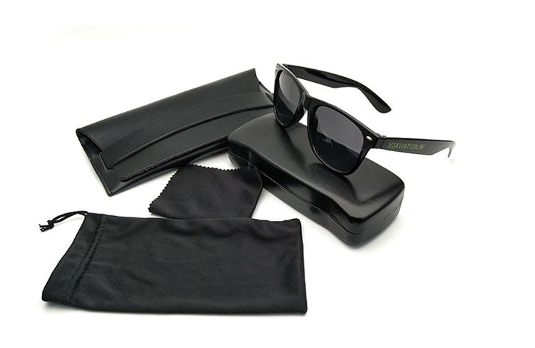 custom heat transfer printed sunglasses pouch bags