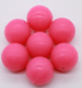 Vibrating screen rubber/silicone gel cleaning ball