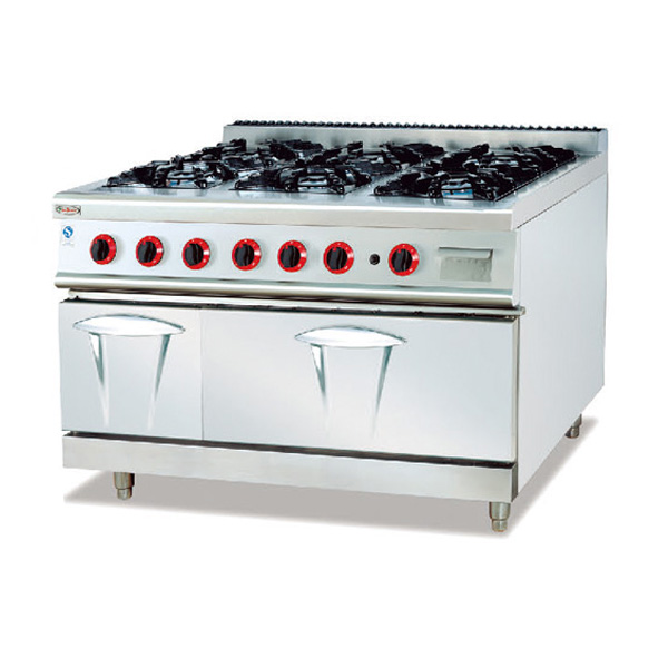 Kitchen Cooking Use 6 Burner Gas Cooker High Quality Stove In China