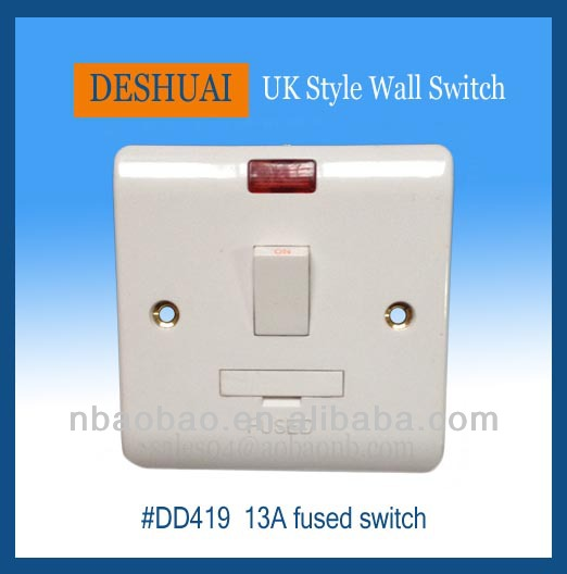 13A Switched Fuse with Neon