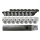Very Popular 16ch IP POE NVR Home Security System CCTV Kits