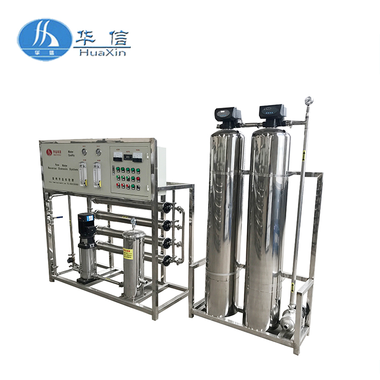 Factory direct sale Reverse Osmosis 1000 LPH demineralized water treatment plant / desalination machine