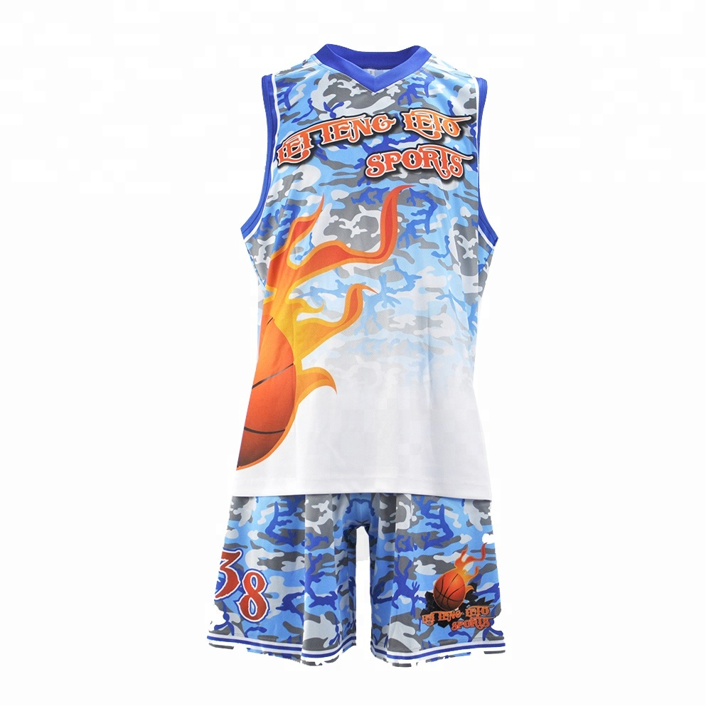 Sublimation billige Jugend Basketball Uniformen Design grün