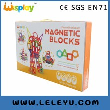 Commercio all'ingrosso 106 pz Blocchi Magnetici Per Bambini <span class=keywords><strong>FAI</strong></span> <span class=keywords><strong>DA</strong></span> <span class=keywords><strong>TE</strong></span> <span class=keywords><strong>Giocattoli</strong></span> Produttore Fornitore