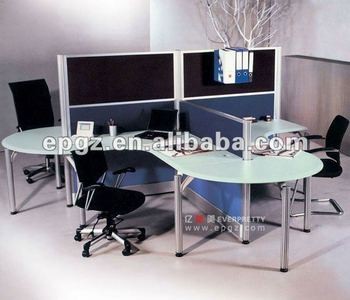 office work desk for 6 people,modern work station with 6 seaters