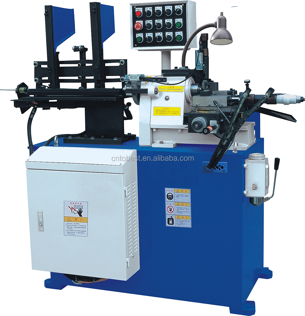 small size automatic hydraulic lathe machine steel bar peeling machine